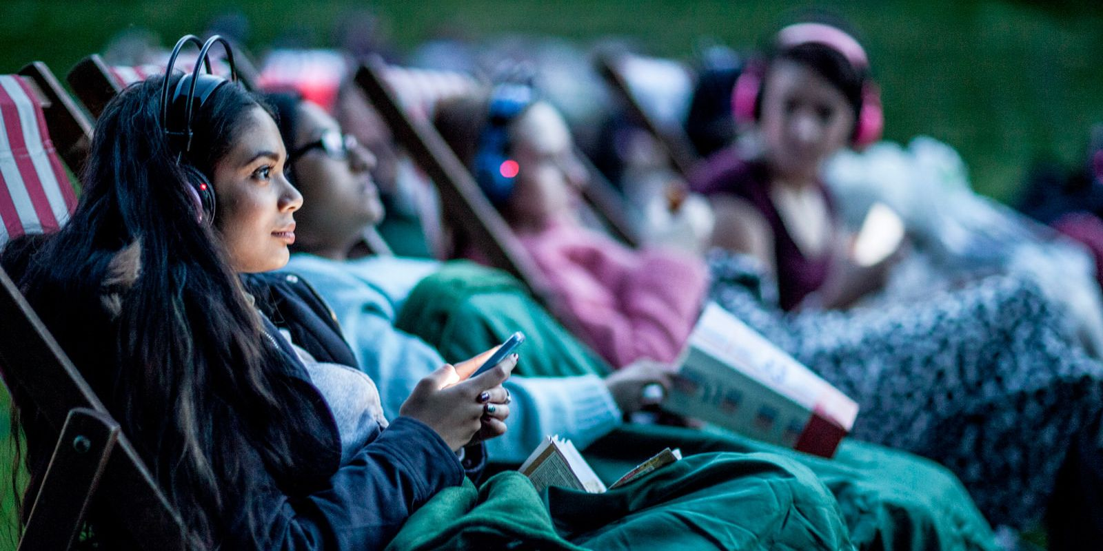 Outdoor cinema event at Croxley Park