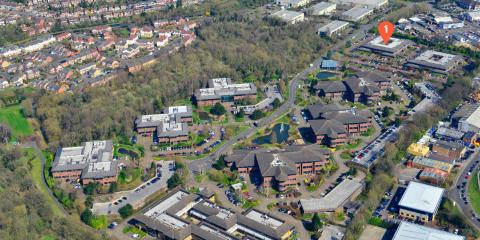Site Aerial Building 1